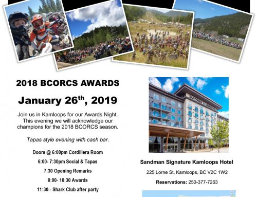 2018 BCORCS Awards Night