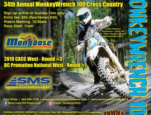 Monkey Wrench pre-registration open!