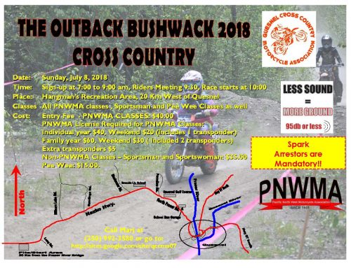 2018 BCORCS The Outback Bushwack Cross Country